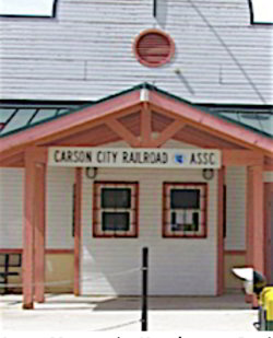 Picture of Carson City Railroad Assoc. depot